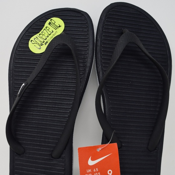Nike Women's Sandals Solarsoft Thong Flip Flops Flop Brand